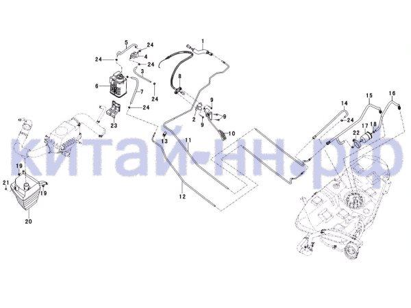 Топливная система лифан солано схема фото