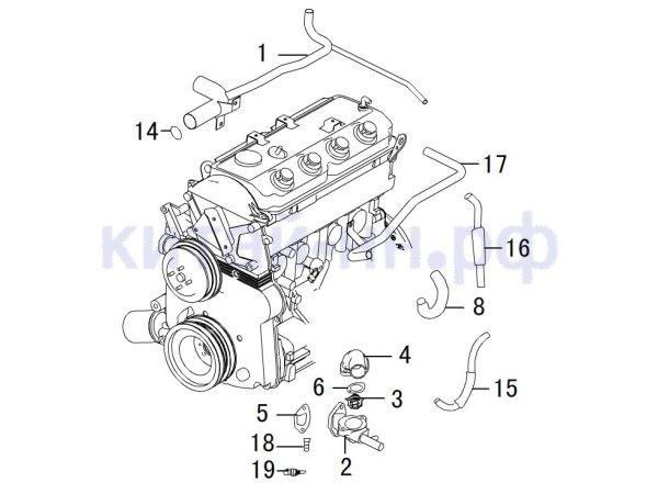 Система охлаждения GREAT WALL Hover H3