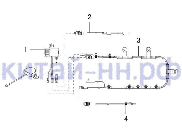 Антенна GREAT WALL Hover H5 (бензин)